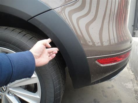 volkswagen touareg wheel molding fender trim oem style