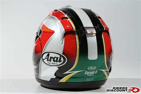 Helmet Arai Aoyama Arai Hiroshi Aoyama Corsa Replica Helmet Ducati Ms The