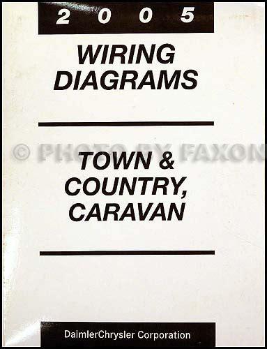 2005 Dodge Caravan Amp Chrysler Town Amp Country Repair Shop