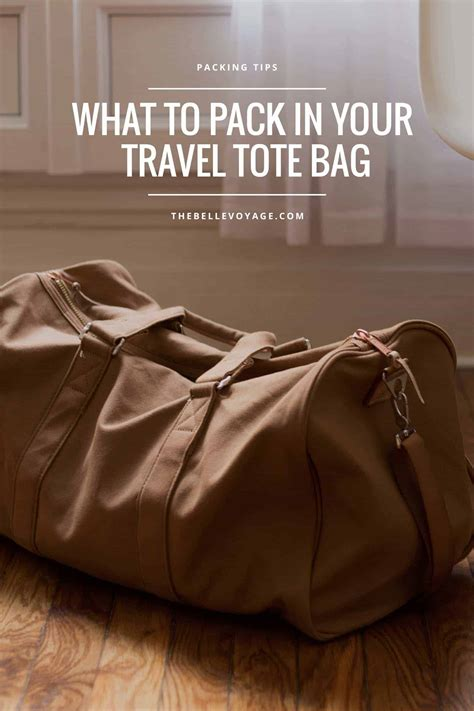 Tote Bag My Trip My Adventure what s in my travel tote bag the voyage