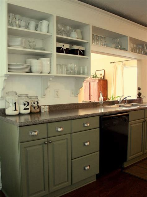 open kitchen cabinets give your kitchen a fresh look on a budget