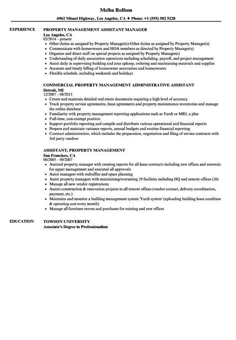 property manager resume exle property assistant sle resume boiler engineer sle resume