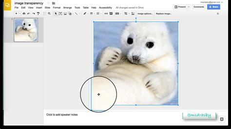 how to get a transparent background slides creating transparent background