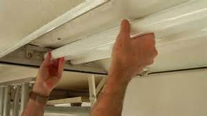 installing fluorescent light fixture how to install a t8 electronic fluorescent ballast in an