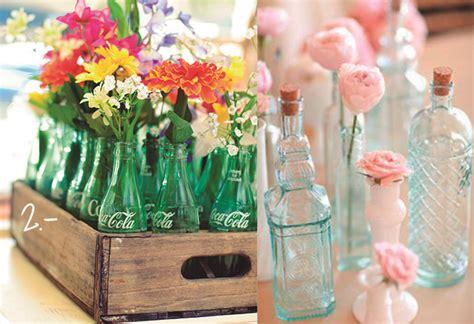 floreros con botellas de plastico 8 floreros reciclados le coquelicot