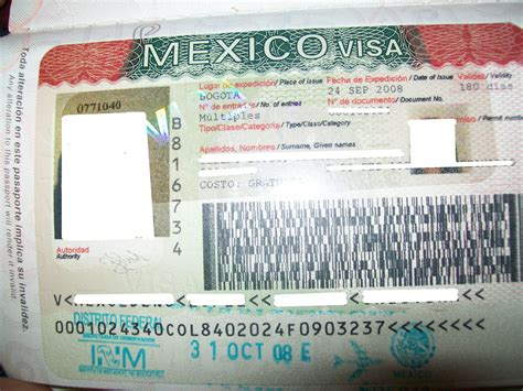 embassy of canada visa section mexico mexico visa entry st to mexico is shown under visa