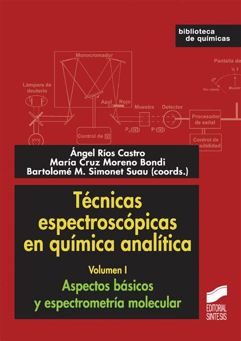 libro vogel quimica analitica pdf tecnicas espectroscopicas en quimica analitica volumen i libro 1714 biblioteca de quimica 1