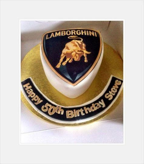 lamborghini badge lamborghini badge cake gold and black cakecentral com