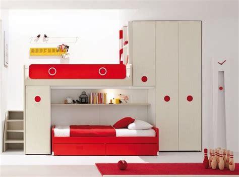 kids red bedroom red white loft bed kids bedroom kids bedroom pinterest