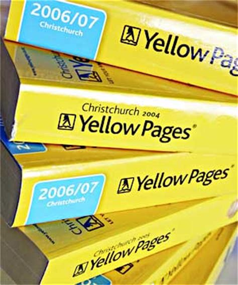 Finder Yellow Pages Yellow Pages Bt Directories My Zero Waste
