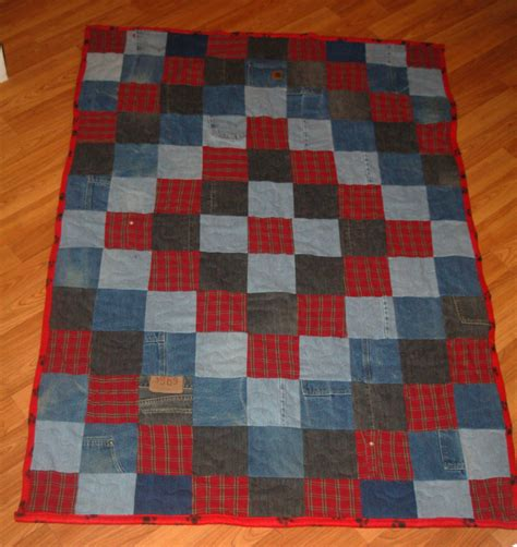 Blue Jean Quilts by Stitchnquilt Around The World Blue Quilt