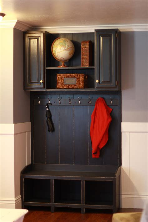 ana white mudroom area diy projects