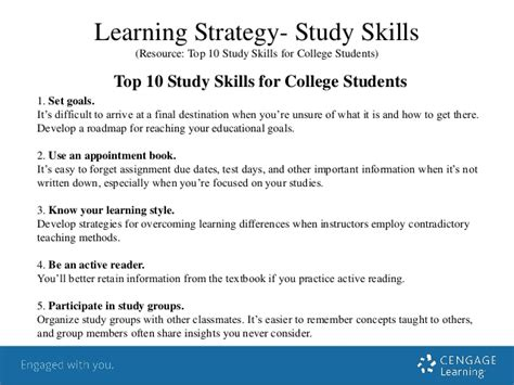 Study Strategies Outline by Student Success Strategies Essay Reportz311 Web Fc2