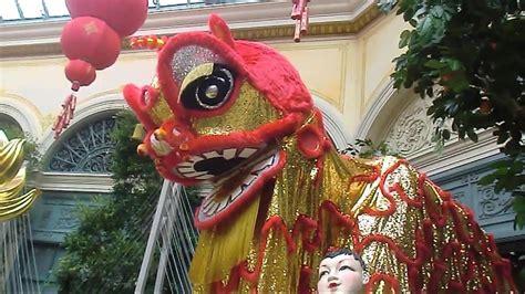 las vegas bellagio display chinese  year  year  pig youtube
