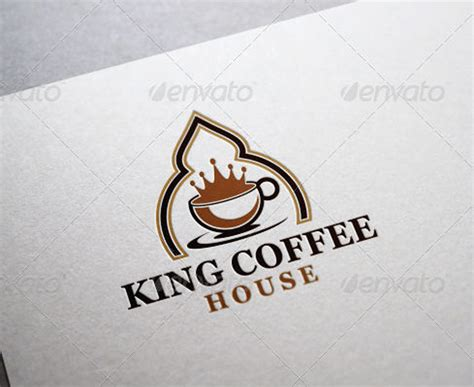 King Coffee king coffee kaffeehaus cafe coffeeshop logo