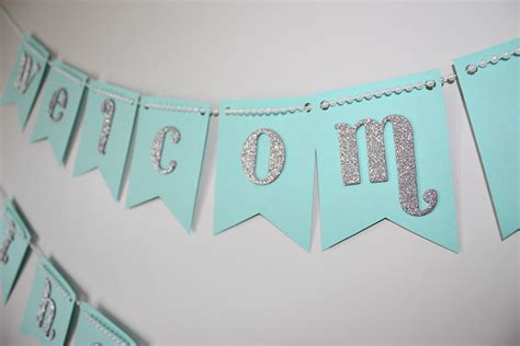 baby shower banners party favors ideas