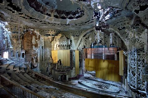 Restaurants Near The Winter Garden Theater - detroit in ruins the photographs of yves marchand and romain meffre feature art and design