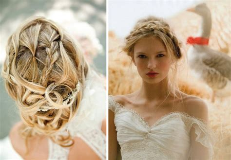 Wedding Hair Up Braid by Wedding Trends Braided Hairstyles The Magazine