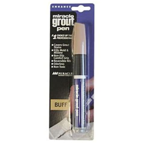 miracle sealants grout pen grt pen buff the home depot