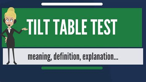 what is a tilt table test what is tilt table test what does tilt table test