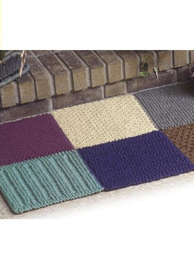 knitting rugs free patterns craftdrawer crafts best knit rug patterns rug knitting