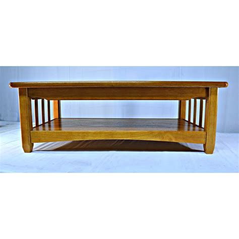country style coffee table solid wood country style coffee table chairish