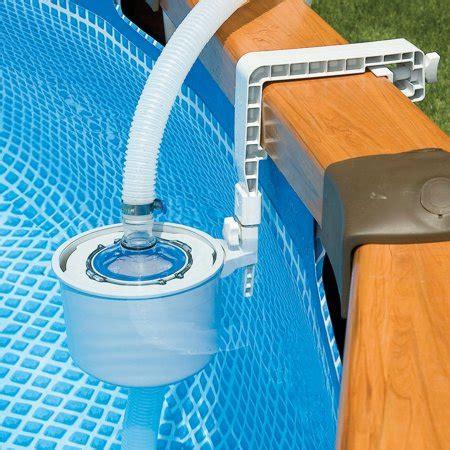 Skimmer De Surface Intex 3429 by Intex Wall Mounted Surface Skimmer Walmart
