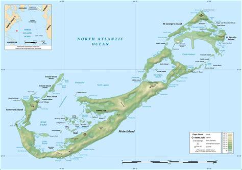 bermuda map list of islands of bermuda bermuda sts
