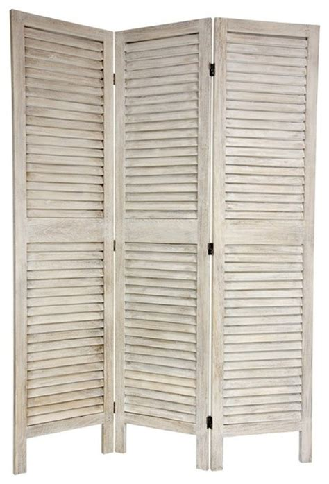 bedroom screen 6 ft tall classic louvered slat venetian room divider