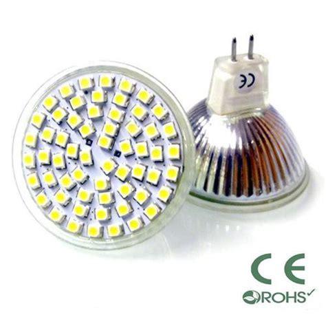 mr16 led ls 12v 12v mr16 led with 60 x 3528 smd chips in warm white
