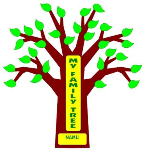 printable family tree for school project family tree clip art templates clipart panda free