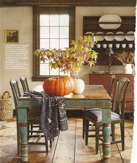 autumn farmhouse table autumn display on a farmhouse table autumn