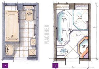 Kleines Bad Mit Dusche 4m2 by Kleine B 228 Der Minib 228 Der Kleine Badezimmer Unter 4m 178