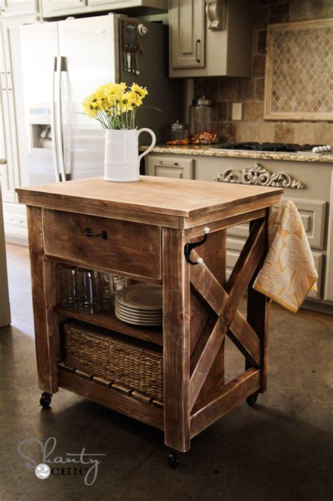 Building Kitchen Islands Kitchen Island Inspired By Pottery Barn Shanty 2 Chic