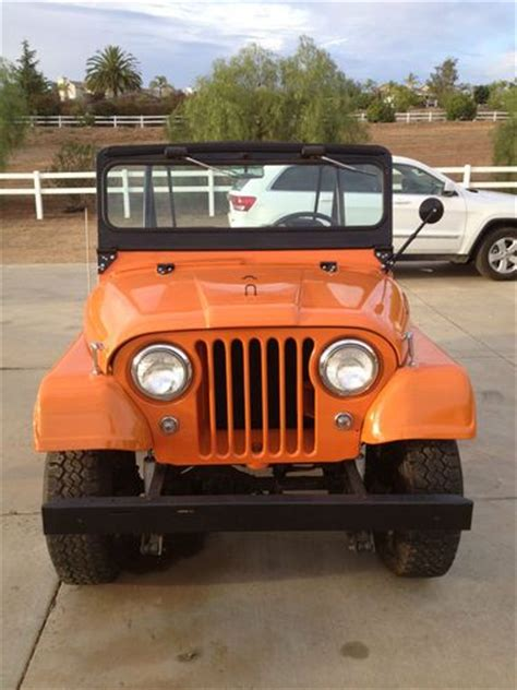 1963 Willys Jeep Purchase New 1963 Willys Jeep Cj5 In Valley Center