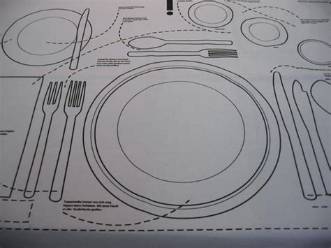 Pdf Table Manners Behave Modern Bother by Kniggerich Placemats Teach Table Etiquette Home Design