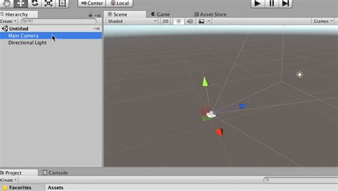 unity tutorial virtual reality how to navigate the hierarchy and scene in unity virtual