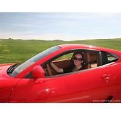 Woman Driving Ferrari  Hot Girls Wallpaper