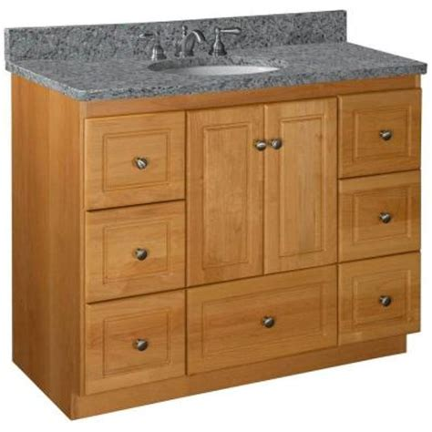 42 Vanity Cabinet Only by Simplicity By Strasser Ultraline 42 In W X 21 In D X 34