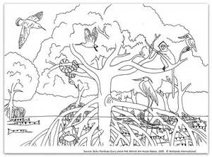 swamp free coloring pages