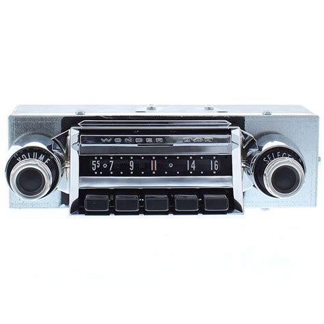 1957 chevy wonderbar radio with bluetooth oe replica