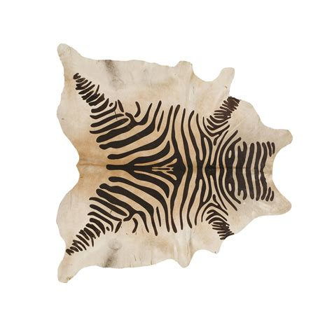 Cowhide Zebra Rug southwest rugs devore rustic zebra brown on beige cowhide rug lone western decor