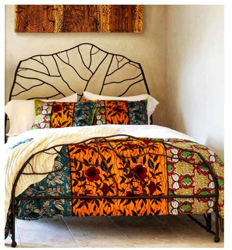 african bedding ankara pagne wax pinterest african fashion bed