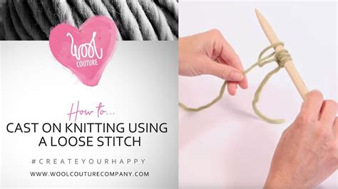 how to cast on knitting stitches using the thumb method how to cast on knitting with a stitch my crafts and
