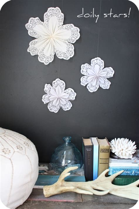 Paper Doily Crafts For - diy project paper doily doilies