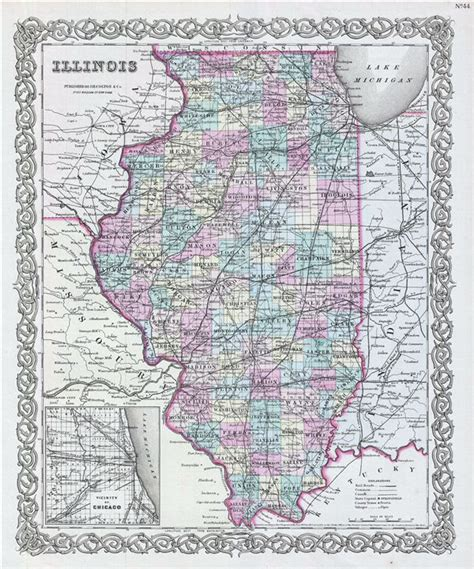 map of illinois pin map of illinois cities and towns on