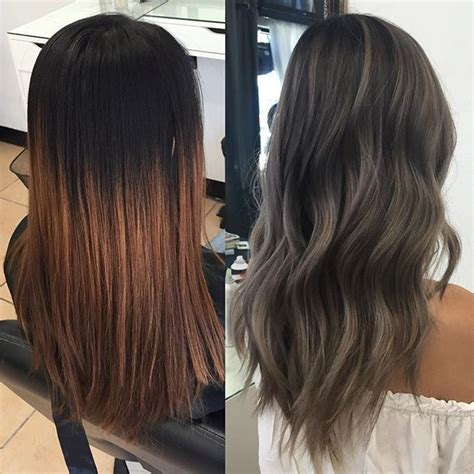 putting silver on brown hair 1000 ideas about ash grey hair on pinterest grey brown