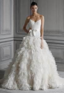 wedding dress 2012 lhuillier wedding dresses 2012 bridal collection wedding inspirasi