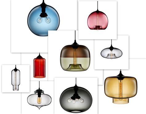 modern glass pendant light hand blown glass pendant lights