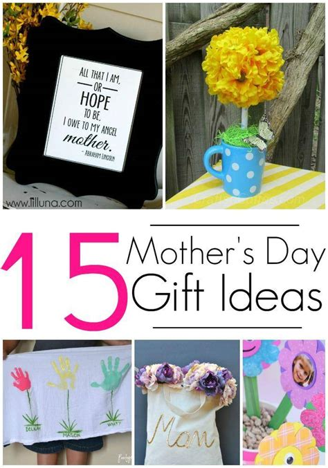 s day present ideas for 15 diy gift ideas for mothers day crafts gifts